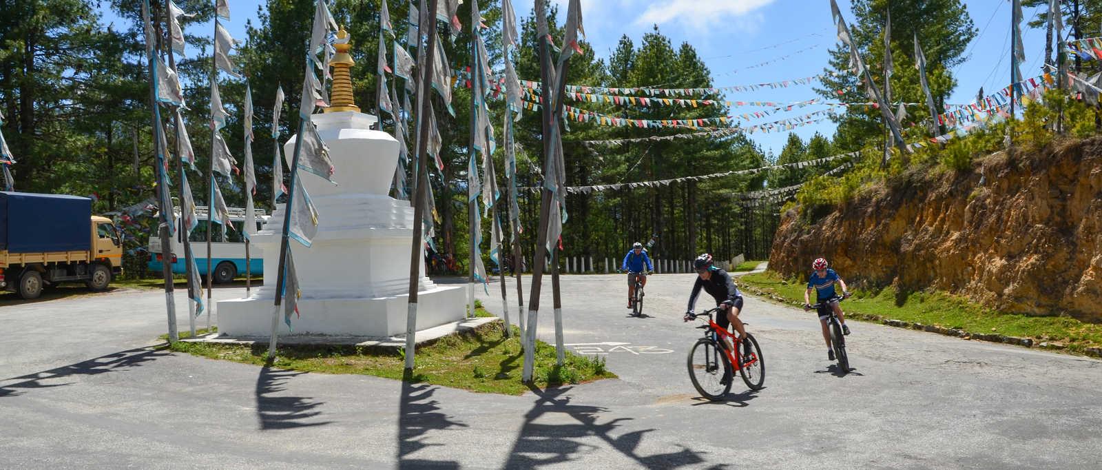Cycling in Bhutan