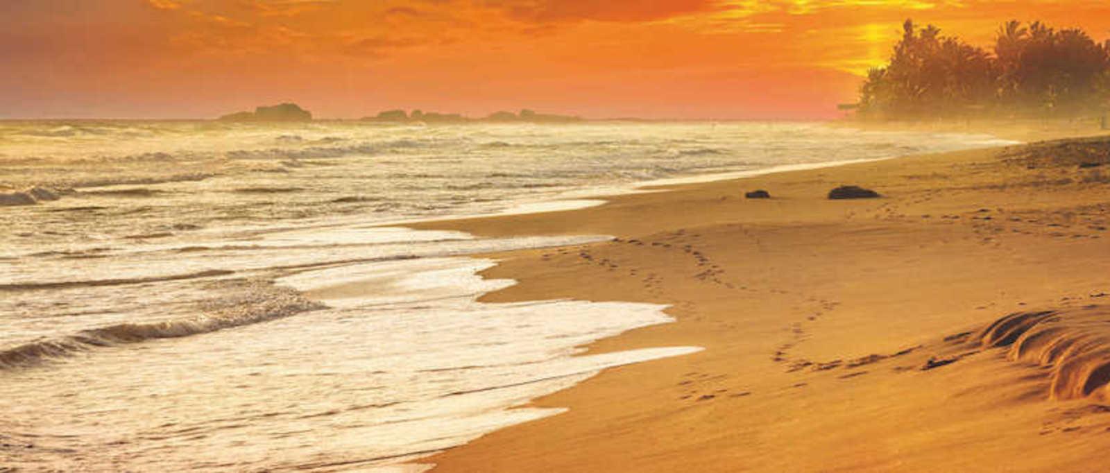 Sri Lanka's world-famous beaches
