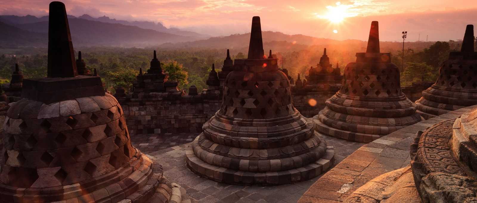 Sunrise at Borobudur Indonesia