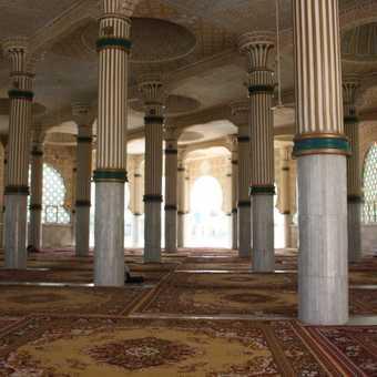Prayer room at Touba mosque