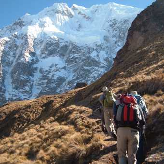 Climb after highest overnight camp