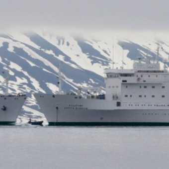 The Vavilov and her sister ship the Ioffe
