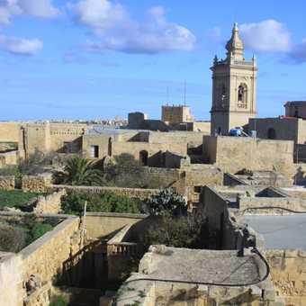 The  Citadel in Victoria (Rabat) Gozo.