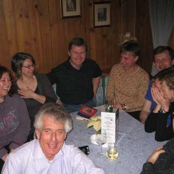 Day 2 In the bar we meet Albert & the Walkers