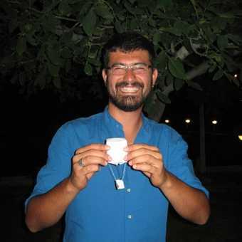 Omer with origarmi hot air balloon