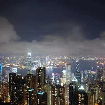 Hong Konyg by night