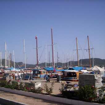 Harbour in Kas