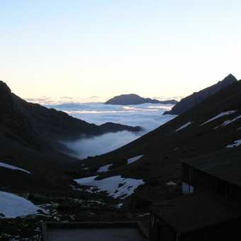 Mount Toubkal(at the top)