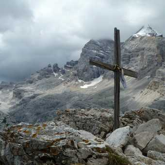 The summit of Col Rosa