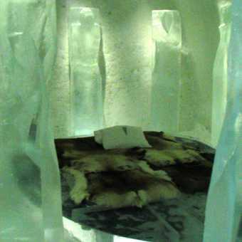 Ice room - Ice Hotel