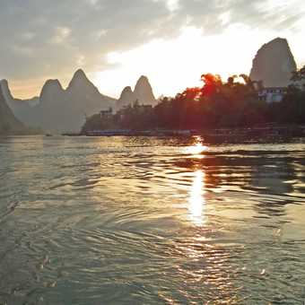 boat trip on Li River