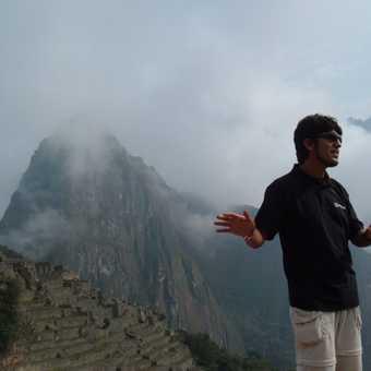 Carlos at Machu Picchu