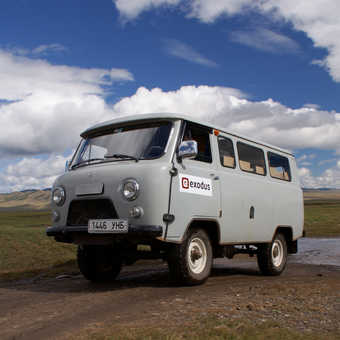 One of our trusty support vehicles.