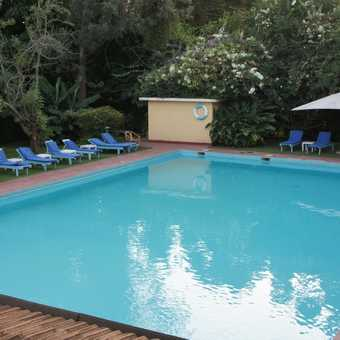 Ilburu lodge pool - bliss!