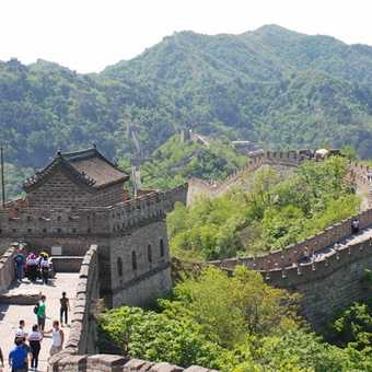 Watch Tower on Great Wall at Mutianyu