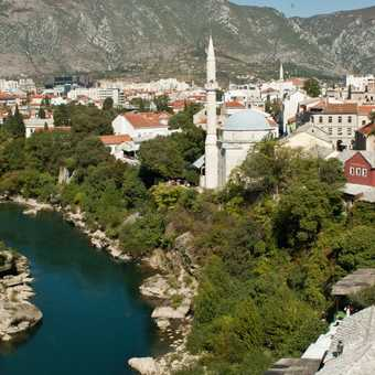 View of Mostar