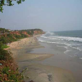 Varkala - beautiful beach
