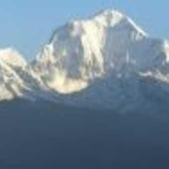 Avalanche on Daulaghiri