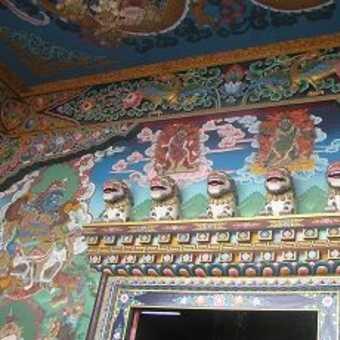 Tibetan Buddhist Temple Kathmandu