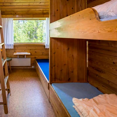 Bunk rooms in Arnes House
