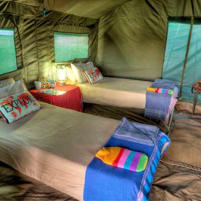 Tent, Wild Botswana
