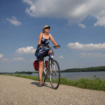 Cycling along the River Danube