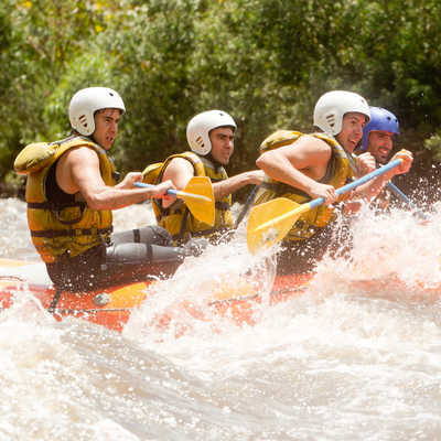 White water rafting adventure, Costa Rica