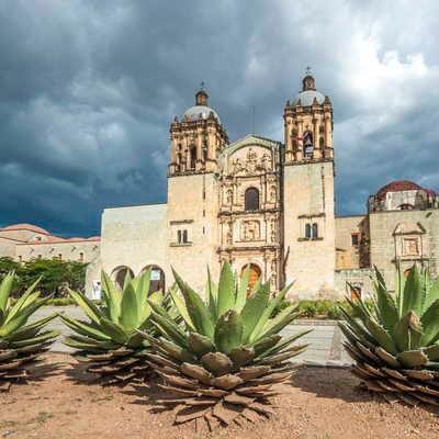 Santo Domingo de Guzman church, Oaxaca