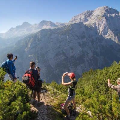 High in the Julian Alps