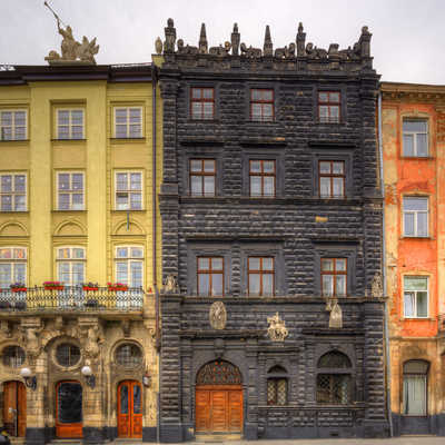 Architecture of Lviv. Ukraine.