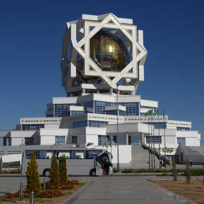 Wedding monument, Ashgabat, Turkmenistan