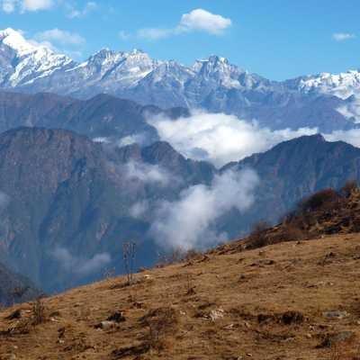 Rhatong from Singalila Peak, India