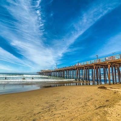 Pier in Pismo beach, California