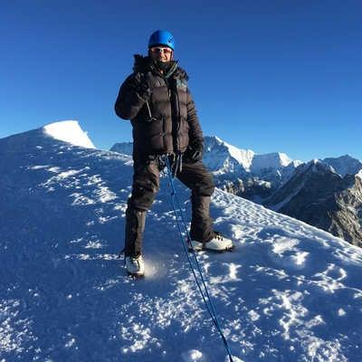 Mera Peak's summit, Nepal