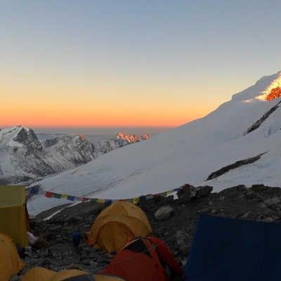 View from High Camp, Mera Peak, Nepal