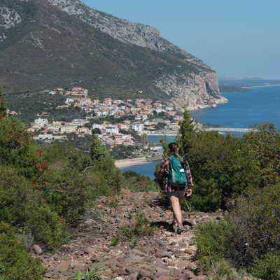 Descent to Cala Gonone