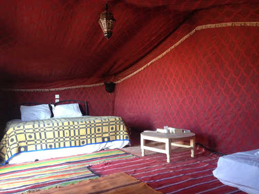 Bedouin camp, Morocco