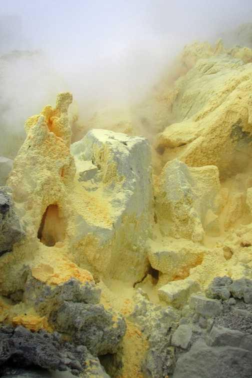 Sulphur Mine, Sierra Negra