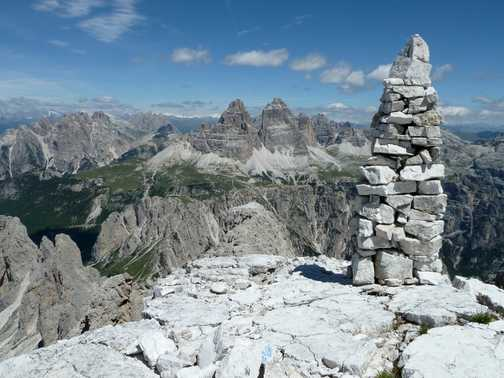 On top of Cima del Cadin