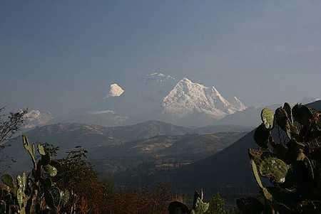 Huascaran - Peru's highest peak