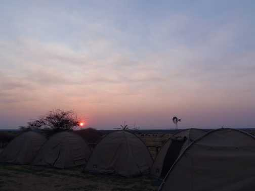 Camp sunrise