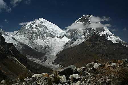 Huscaran's two peaks
