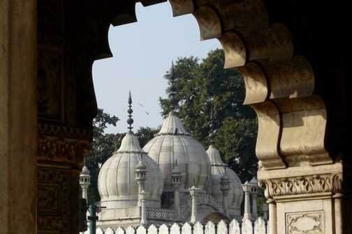 Pearl Mosque in Red Fort, Delhi