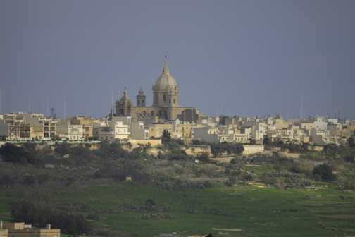 Inthe grounds of Ta'Cenc Hotel in Gozo.