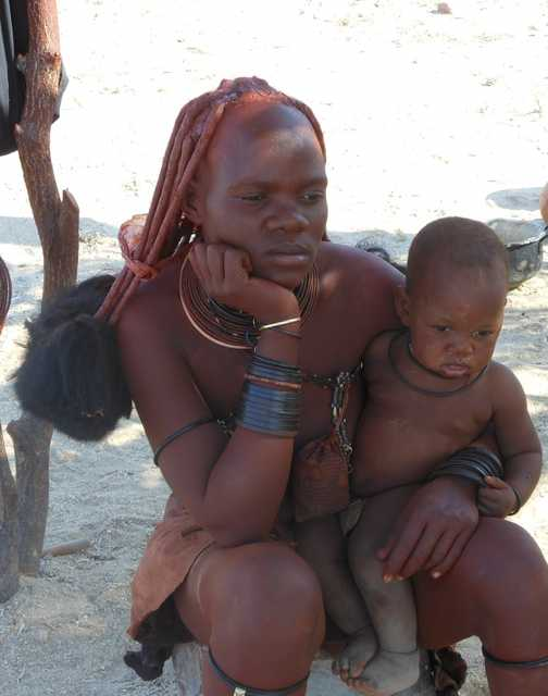 Himba woman. Oh happy day!