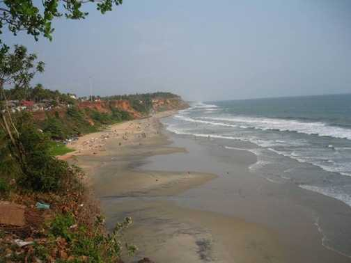 Varkala - beautiful beach