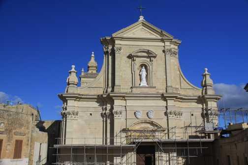 Home of British celebrity in Sannat, Gozo.