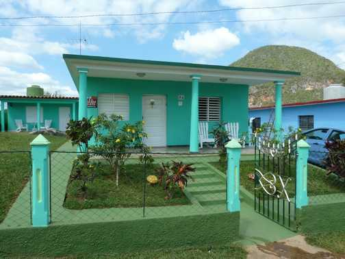Colourful house in Vinales
