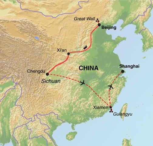 ACW Trip Map