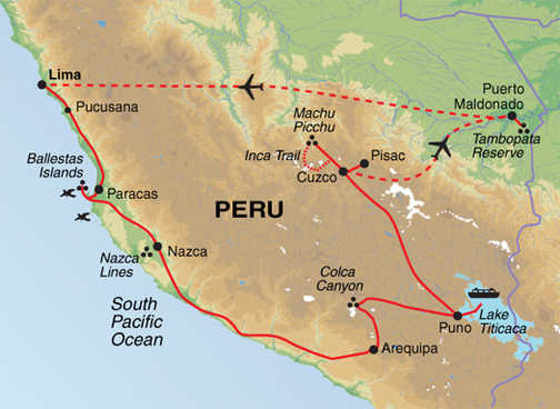 APX Trip Map